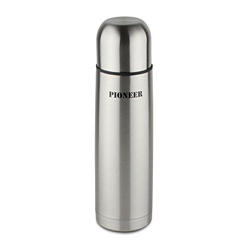 Pioneer Flasks Metal Vacuum Flask, Stainless Steel 500ml / 0.5L