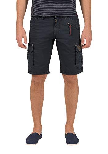 Timezone Herren Regular RykerTZ Shorts, Blau (Washed Navy 3248), W31 - 511 Männer Skinny Stretch Jeans