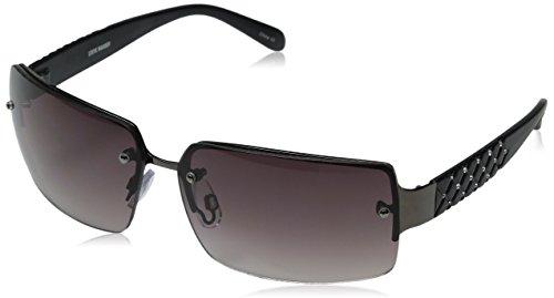 Steve Madden Women's Prescilla S5302 Polarized Wrap Sunglasses
