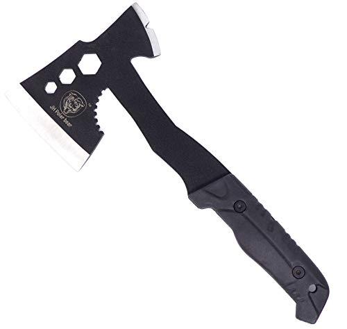 Evil Wear Outdoor Tomahawk Sport-Axt Beil Tiki schwarz 30cm