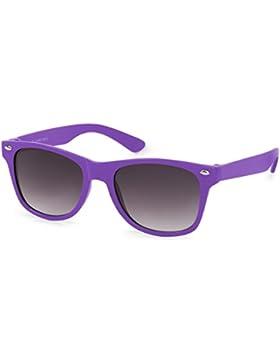 styleBREAKER gafas de sol para niños, retro clásicas, diseño nerd 09020056