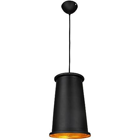Salone minimalista moderno alluminio LED singolo pendente creativo (37CM) , 3