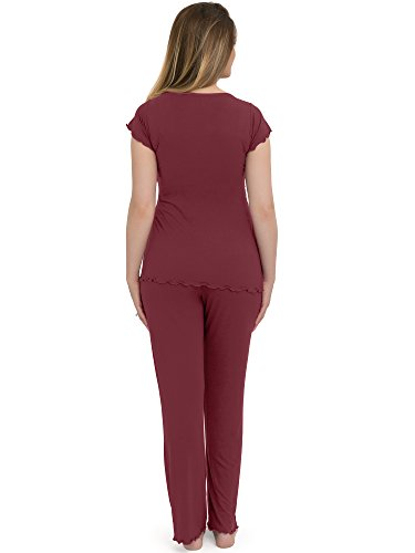 Kindred Bravely The Davy Ultra Soft Maternity & Nursing Pyjamas Sleepwear Set