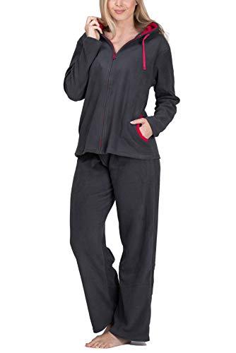 Fleece-Anzug für Damen - SLOUCHER, Farbe:anthrazit;Größe:48/50 -