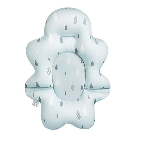 Babybadesets für Unterwegs Baby-Badesitz Unterstützung Net Badewanne Kinderbadewanne Reclining Baby-Bad-Artifact können Sit and Lay Newborn Tub Sponge Badmatte Net Bag