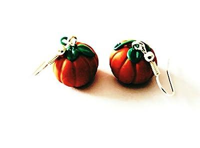 Boucles d'oreilles citrouille d'Halloween