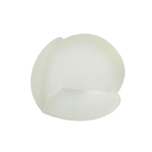 DealMux Tabellen-Ecken-Cover Kunststoff-Kugel Auflage-Schutz-Kissen löschen 2 Stück