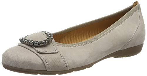 Gabor Shoes Damen Casual Geschlossene Ballerinas, Braun (Visone 12), 37 EU -