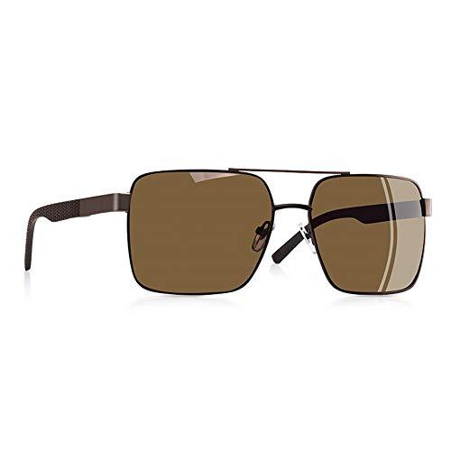 DSDASRCV Polarized Sunglasses Men Driving Square Metal Frame Men's Glasses Male Eyewear Goggles