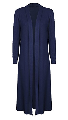 Candid Styles -  Maglia a manica lunga  - Impermeabile - Donna Navy