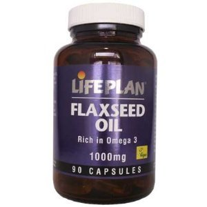 Flaxseed Oil Vegetarian Capsules x 90 from Lifeplan