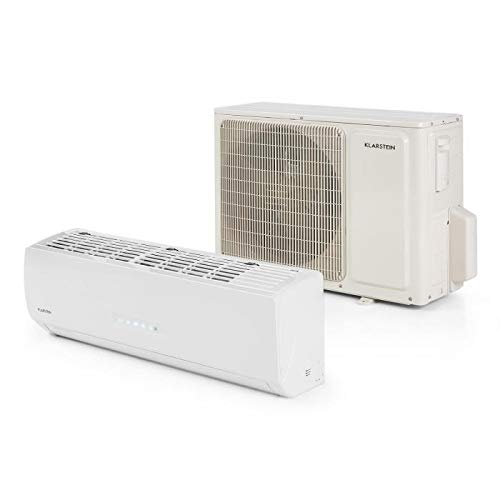 Klarstein Windwaker Supreme 9000 - Inverter Climatiseur split, 9000BTU, 2,6/2,8 kW, Climatisation et...