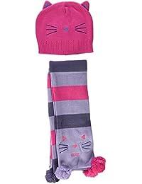 Tuc Tuc Tricot Kitties, Set de Bufanda, Gorro y Guantes para Niñas