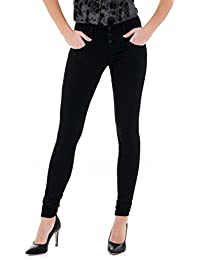 Salsa Push Up Mystery Pants With Skinny Leg and Light Denim