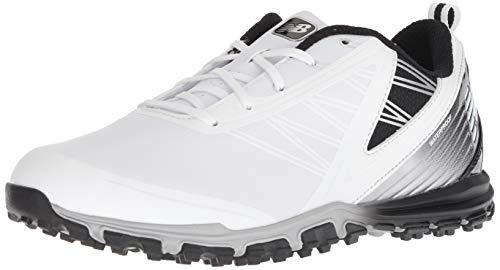 New Balance Minimus SL - Scarpe da Golf da Uomo, Bianco (Bianco/Nero), 41 EU