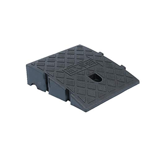 All'aperto Pad for piste da bicicletta, plastica for skateboard Triangolo for sedie a rotelle Opzioni a più dimensioni Rampe di servizio portatili Soglia, 7-13,5 cm Curb Ramps