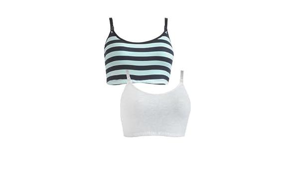239f75a4f90 2 Pack Maternity And Nursing Sleep Bra (S - 8 10)  Amazon.co.uk  Clothing