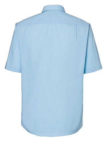 CASAMODA Messieurs Chemise d'affaires 100 % coton bleu clair