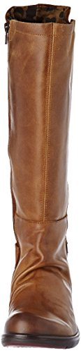 FLY London Miss141fly, Bottes d'Équitation Femme Marron (Camel)