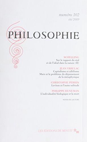 Philosophie 102 Ete 2009