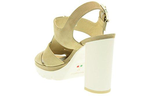 NERO GIARDINI donna sandali con tacco P615730D/406 Tortora