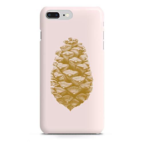 artboxONE Apple iPhone 8 Plus Premium-Case Handyhülle Beautiful Pine Cone Light pink von Ten Valleys