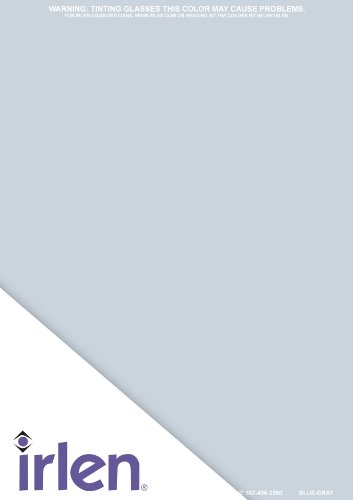 Irlen Blue Grey Coloured Overlay 9