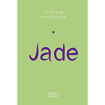 39 Le Livre de mon prénom - Jade