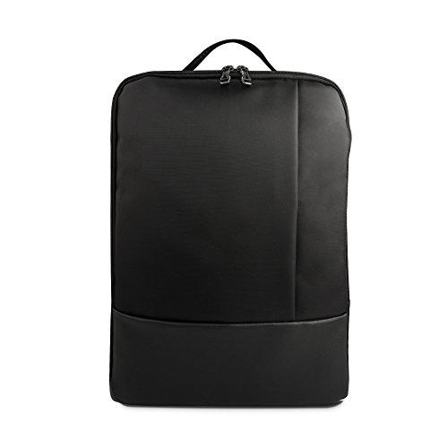 WEYO Multifunktions Rucksack Laptop Rucksäcke, Business Notebook Rucksack Business Aktentasche, Wasserdichte Reise Rucksack für 12-15,6 Zoll Laptop, Schwarz (Beste Business-notebook)