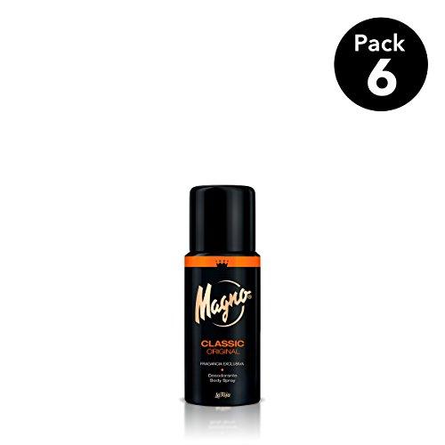 Magno - Desodorante Classic - 150ml (pack de 6) Total: 900ml