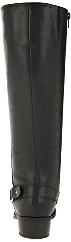 Lauren Ralph Lauren Micaela Riding Boot Black Burnished Calf