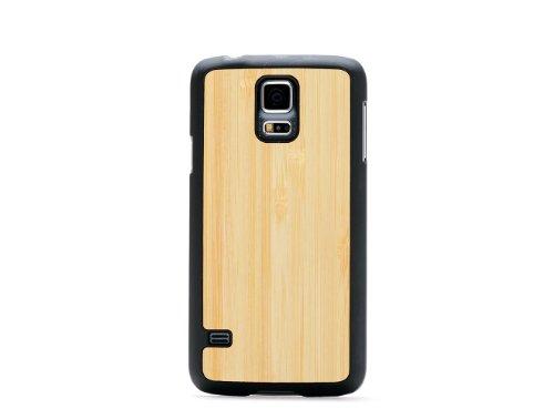 Carven Schutzhülle für Samsung Galaxy S5, Mattschwarz, Bambusfarben