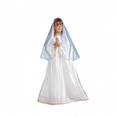 Maria Mädchen Kostüm Jungfrau - Jungfrau Maria-Kostüm für Mädchen