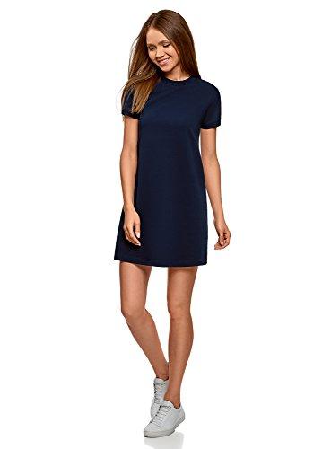 �ssiges Jersey-Kleid, Blau, DE 36 / EU 38 / S ()