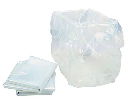 HSM Bolsas de plástico, 10 unidades, por SECURIO B22, B24, Classic 104.3, 105.3, 108.2