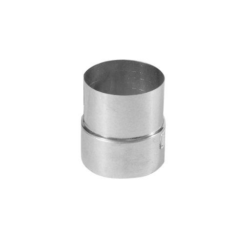 ung silber, rostfreie Rohrreduzierung aus feueraluminiertem Stahl, geprüft nach Norm EN 1856-2, zum Anschluss von 120 mm in ein 110 mm Rohr ()