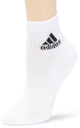 adidas Sneaker Socken Ankle HC 3PP, White/Black, 35/38, Z11432 -