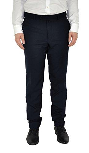 Michaelax-Fashion-Trade - Pantalon de costume - Uni - Homme Dunkelblau (37)