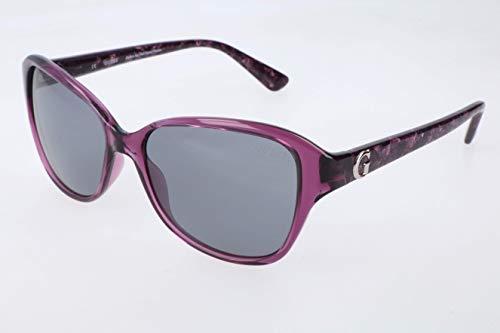 Guess Damen GU7355-55O43 Sonnenbrille, Violett (Morado), 55
