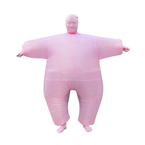 n / Halloween aufblasbare Kostüm Overalls sprengen Ganzkörperanzug Kostüm Kostüme (Blow Up Kostüme Uk)