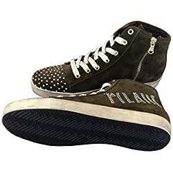 ALVIERO MARTINI Scarpe Donna Sneaker Prima Classe Colore Dark Milit (Verde Militare) Z735I8306 Misura 41.