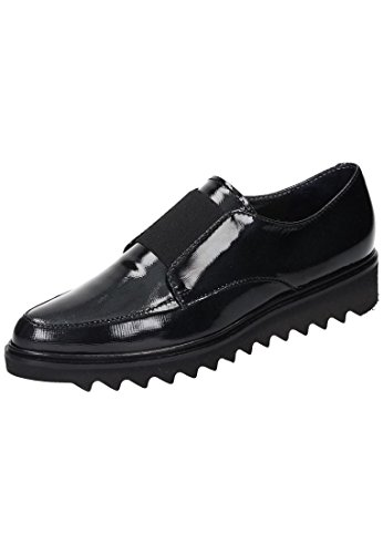 Maripé Damen Slipper schwarz Schwarz