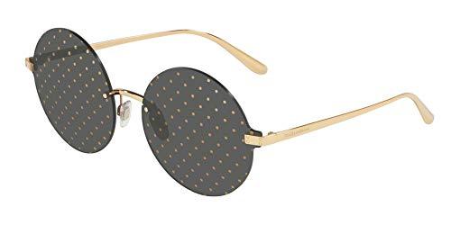 Ray-Ban Damen 0DG2228 Sonnenbrille, Mehrfarbig (Gold), 40.0