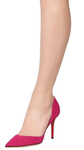 Guoar - Scarpe chiuse Donna (Rosa Samt)