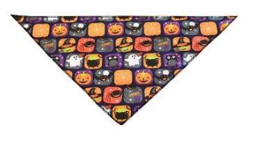 Mirage Pet Products Halstuch, zum Anbinden für Haustiere, Halloween-Design, Small