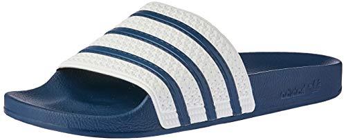 adidas Originals ADILETTE G16220, Unisex - Erwachsene Bade Sandalen, Blau (ADIBLUE / WHITE / ADIBLUE),44.5 EU (10 UK)