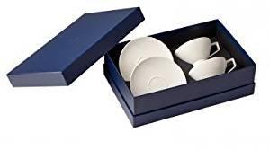 Villeroy & Boch La clasenza Nouvelle Set Te, 4 pièces, Porcelaine Bone China, Multicolore
