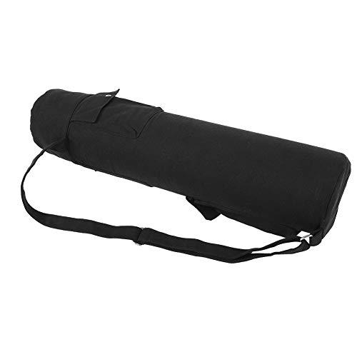 Dilwe Yoga Matten Tasche, Segeltuch Multifunktions Tasche Yoga Matten Tasche Yoga Matten Sling Tasche mit Verstellbarem Riemen für Fitness Yoga Training