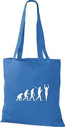 Shirtstown, Borsa a mano donna Blu (royal)