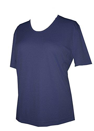 Schneider Sportswear Damen Shirt Pulli T-Shirt Sportshirt Pullover Dunkelblau